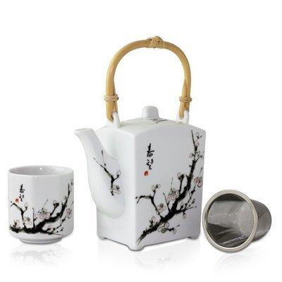 Shunbo Teapot + 4 Cup Set