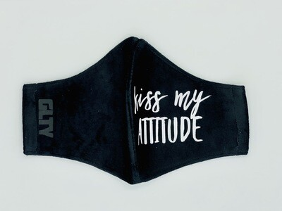 Kiss My Attitude Velvet Black