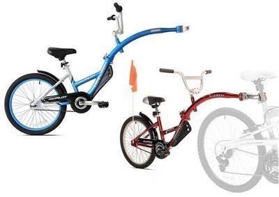 WeeRide Pro Pilot aluminium – rower doczepiany [przyczepka, doczepka, hol]