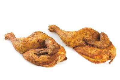 Halve gegrilde kip (naturel)