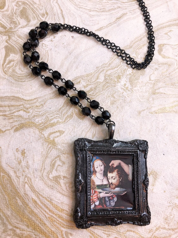frame necklace (salome)