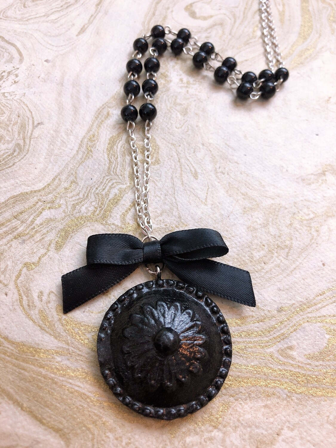 architecture necklace (finial)