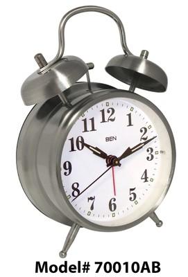 Ben Twin Bell Alarm Clock