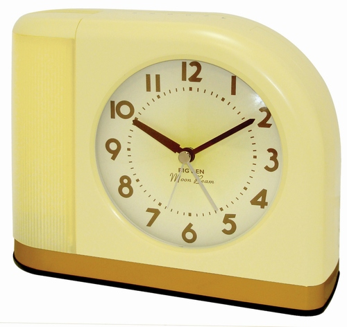 Westclox Big Ben Moon Beam Alarm Clock Yellow 43000X