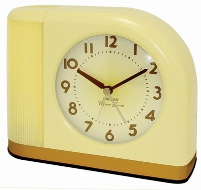 Westclox Big Ben Moon Beam Alarm Clock Yellow 43000X
