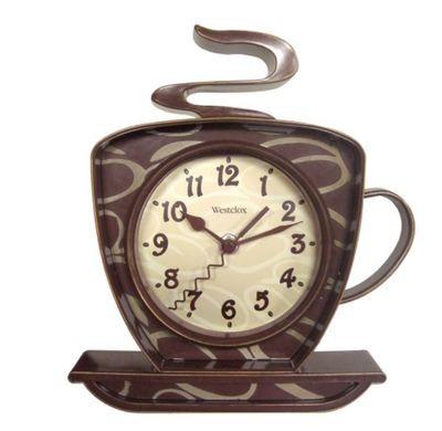 Westclox Coffee Time Wall Clock 32038