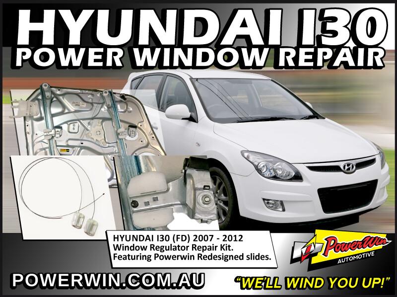 Hyundai i30 Window Regulator Repair Kit