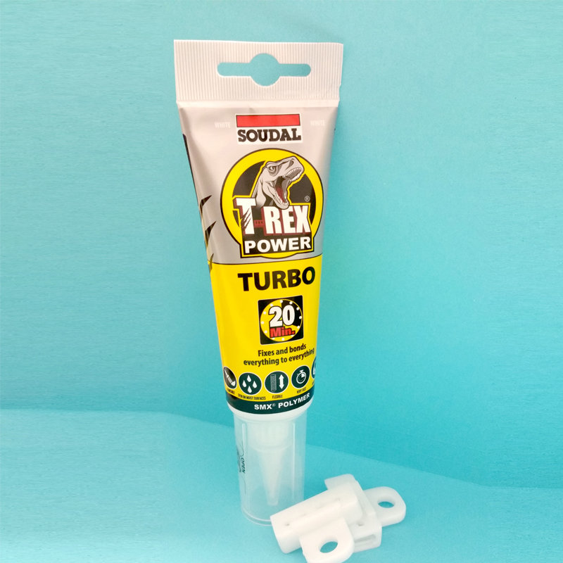 T-Rex Turbo 125ml Adhesive for glass clamps and more.