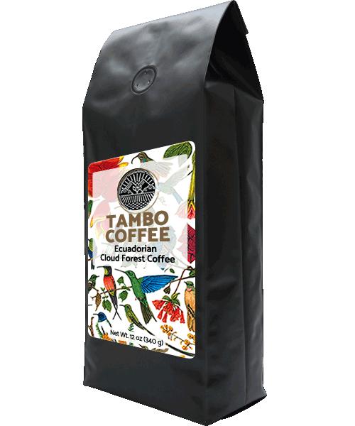 Coffee from Ecuadorian Cloud Forest - Medium Roast Whole Coffee Beans