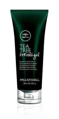 TEA TREE FIRM HOLD GEL® Maximum Hold and Shine