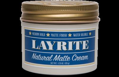 LAYRITE NATURAL MATTE CREAM - 4.25 OZ
