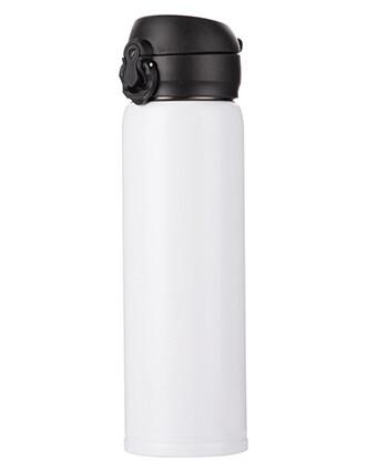 Personalizirana bijela metalna termosica 500ml/17oz