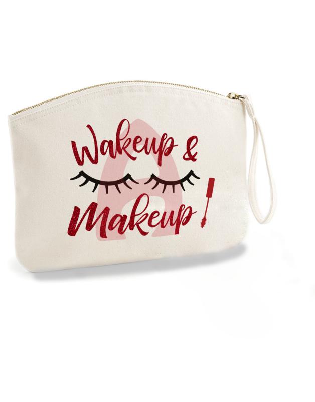 Kozmetička torbica Wake up