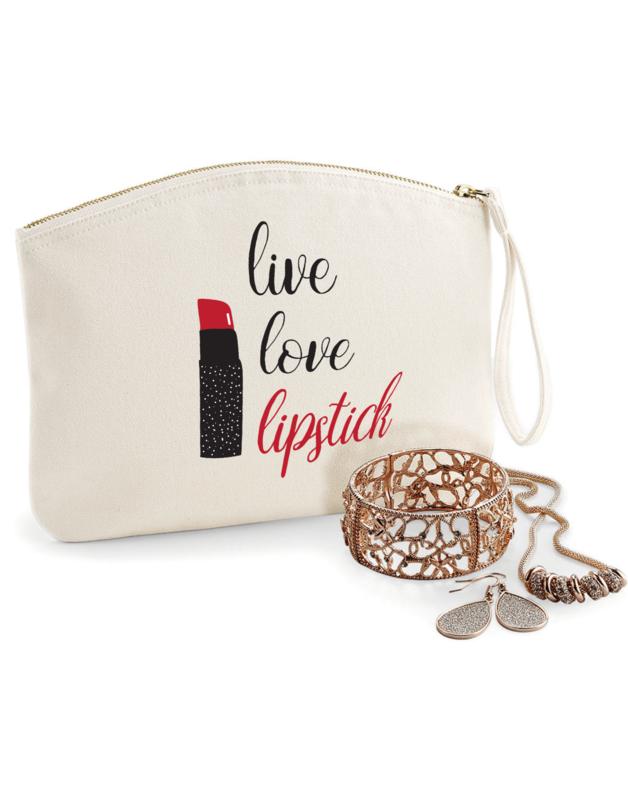 Kozmetička torbica Live Love Lipstick