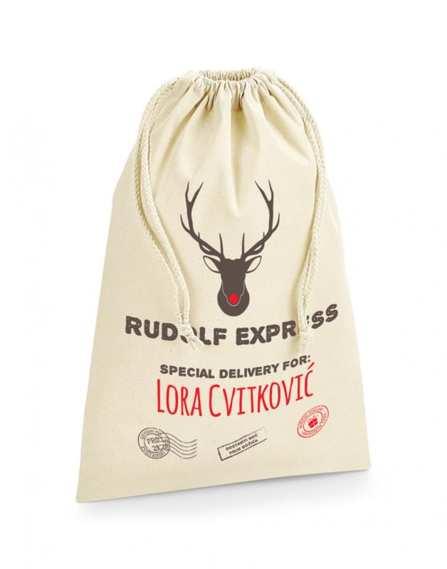 Vreća za poklone Rudolf express