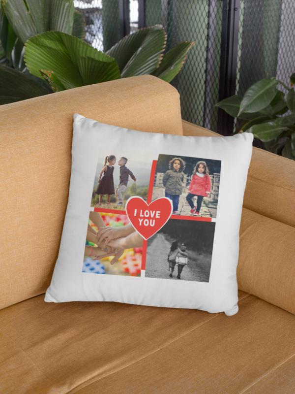Love - personalizirani tisak na jastučnicu