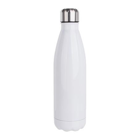 Personalizirana bijela boca za vodu 500ml/17oz