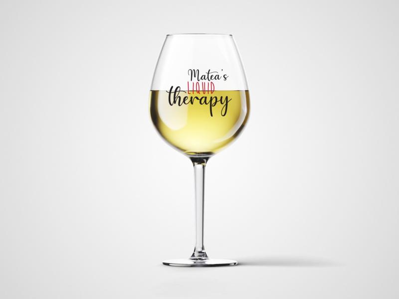 Čaša za vino Liquid Therapy