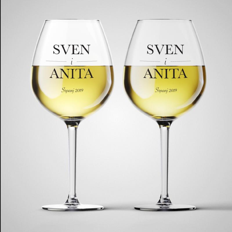 Komplet čaša za vino