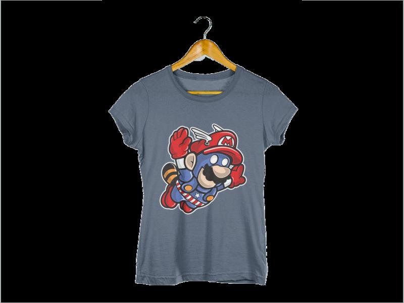 Majica Flying Mario