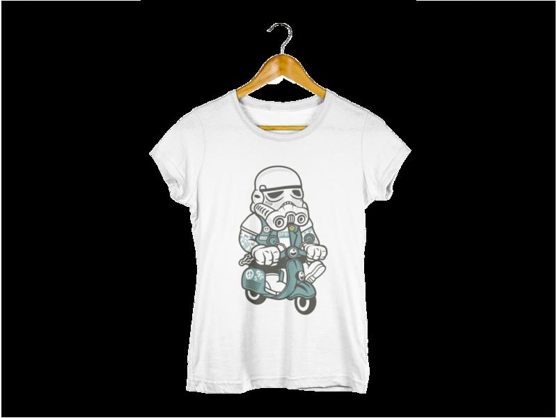 Majica Trooper Motorbike