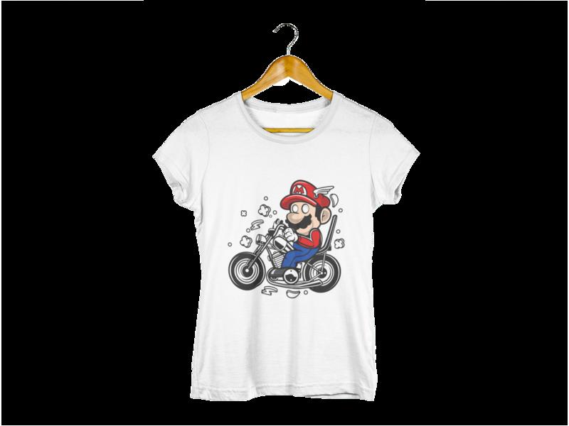 Majica Biker Mario