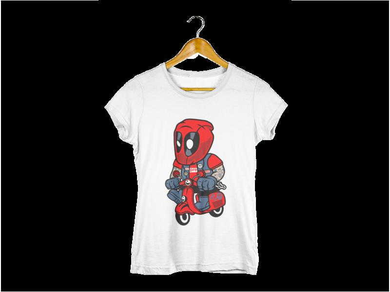 Majica Deadpool Biker