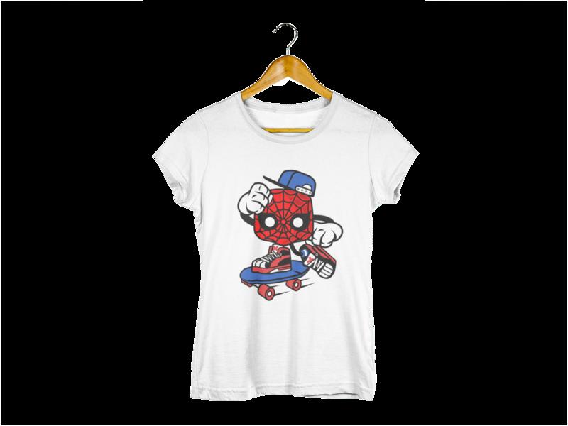 Majica Spider Skater