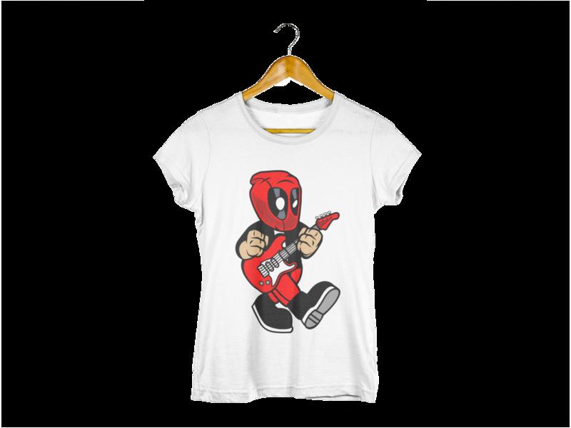 Majica Deadpool Guitar Player