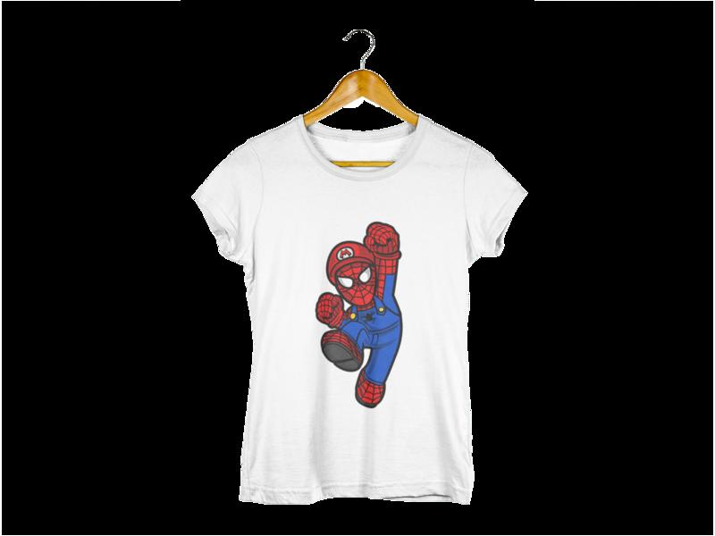 Majica Spiderman Mario