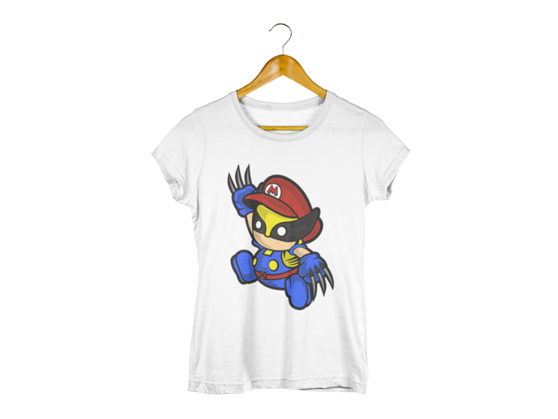 Majica Mario Wolverine