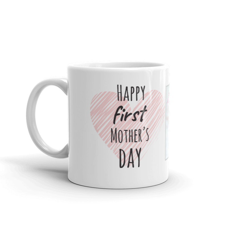 Šalica prvi Majčin dan roza