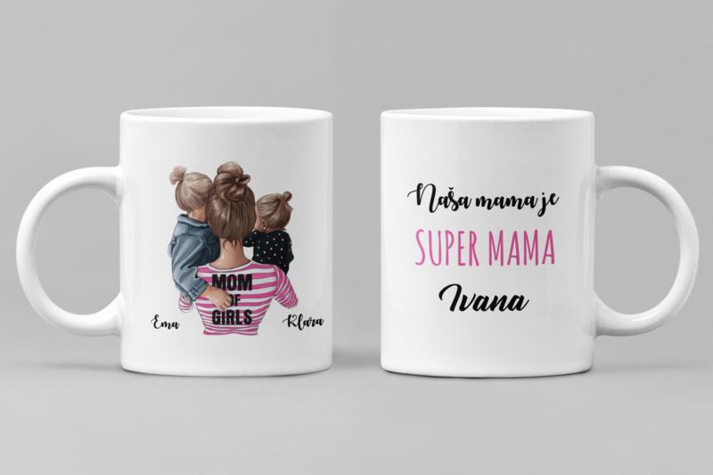 Super mama of girls