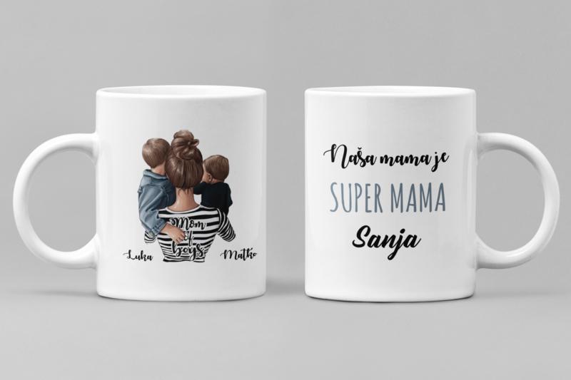 Super mama of boys