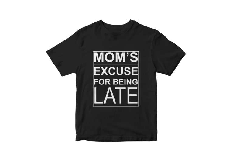 Mom's excuse for being late