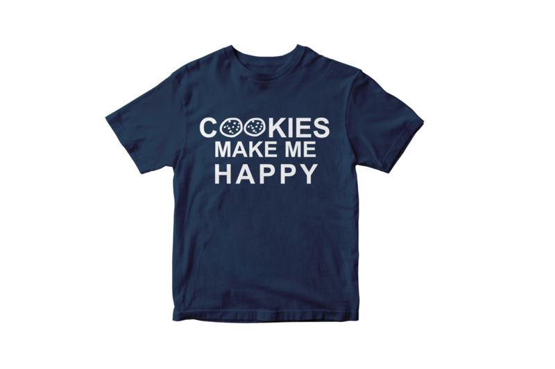 Cookies make me happy