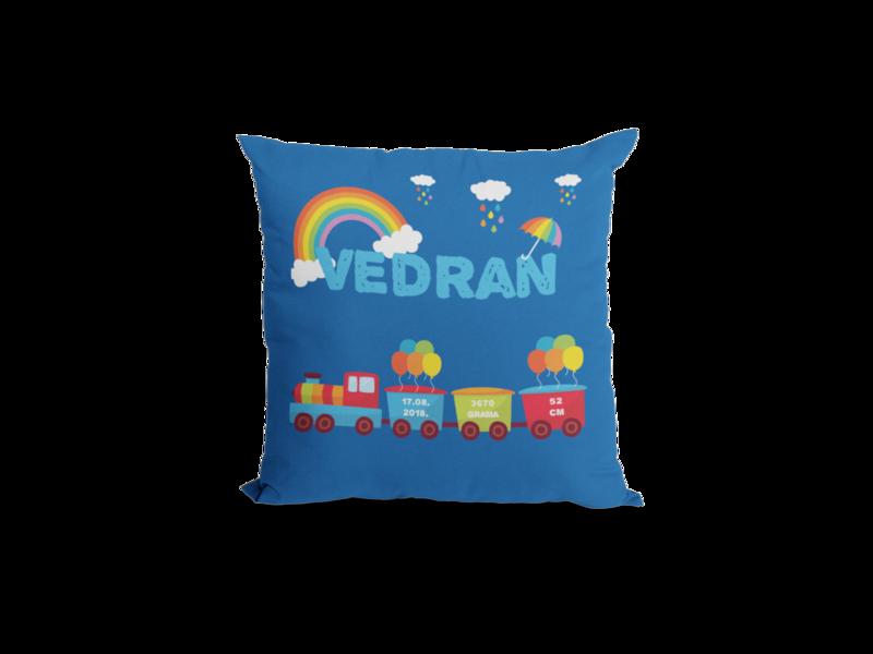 Dječji jastuk vlak