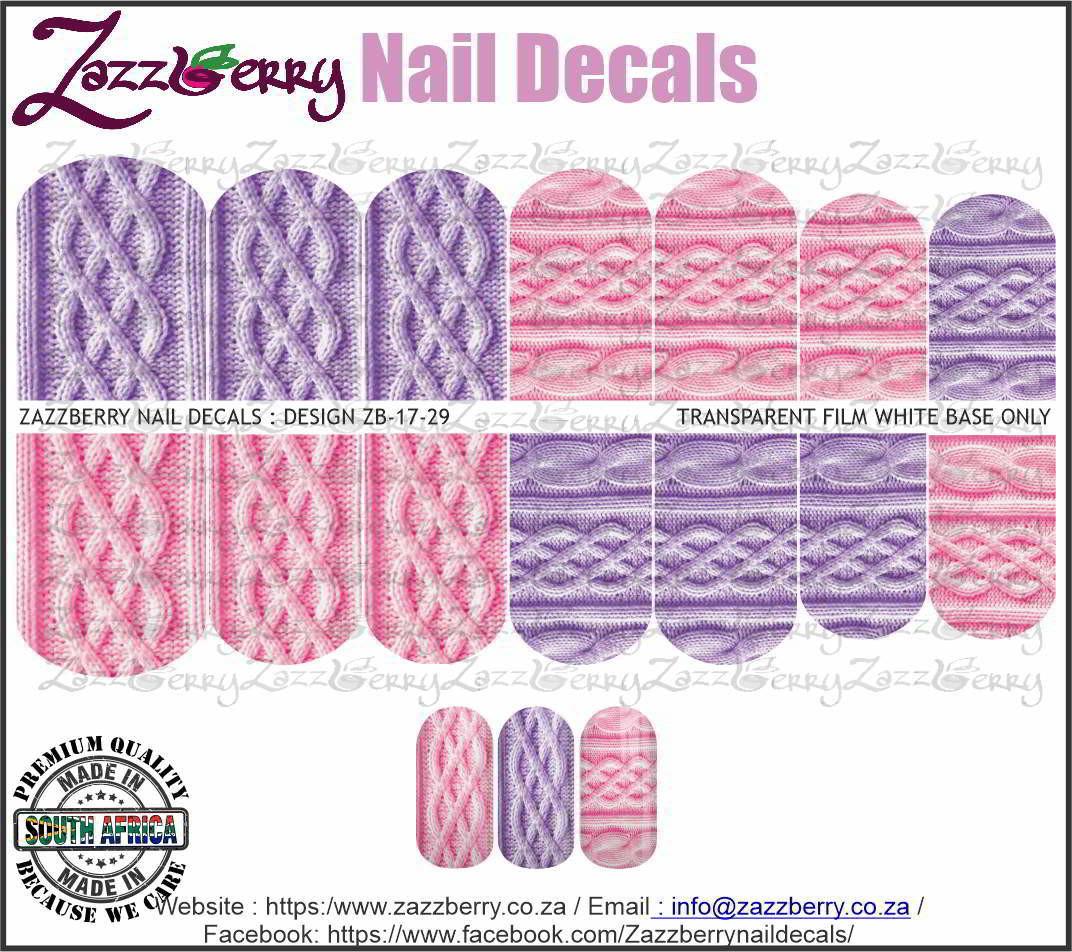 Knits : Pink and Purple