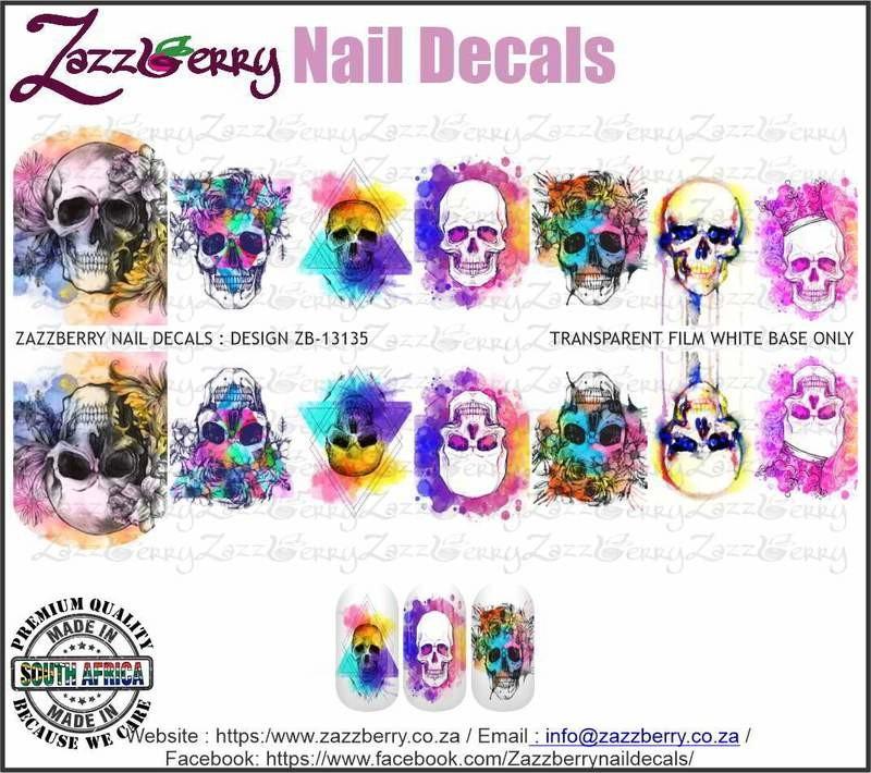 Water Color Skulls