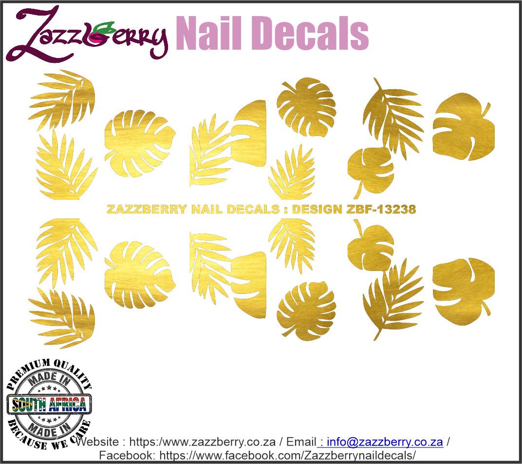 Tropical Leaves (Foil)