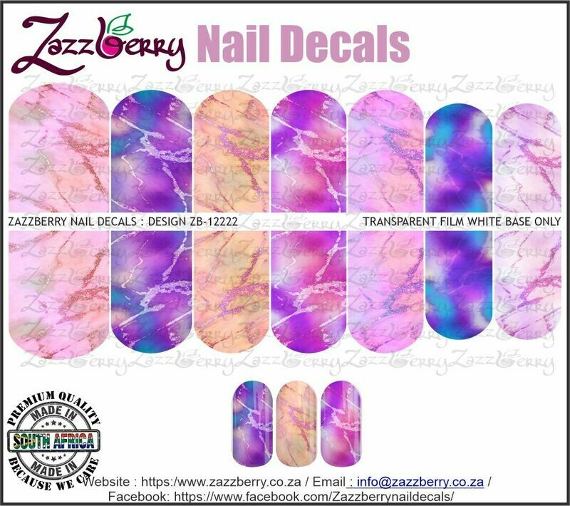 Colorful Iridescent Marble
