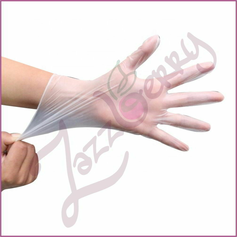 Disposable Latex Gloves 60pcs