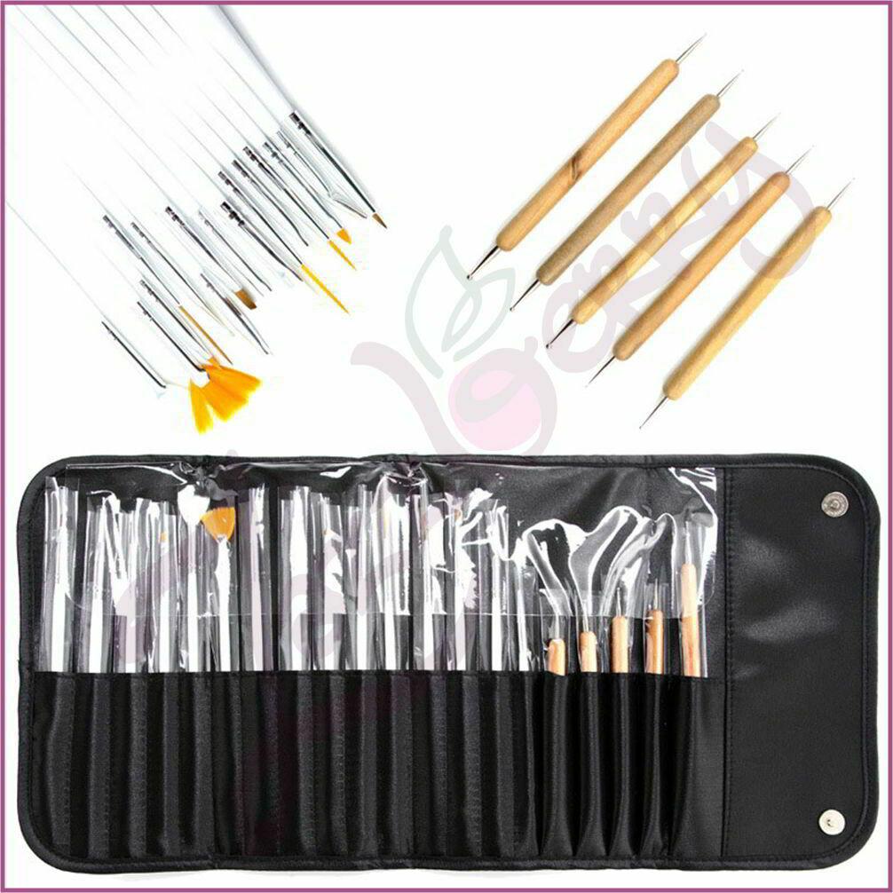 Manicure Brushes : 20pcs