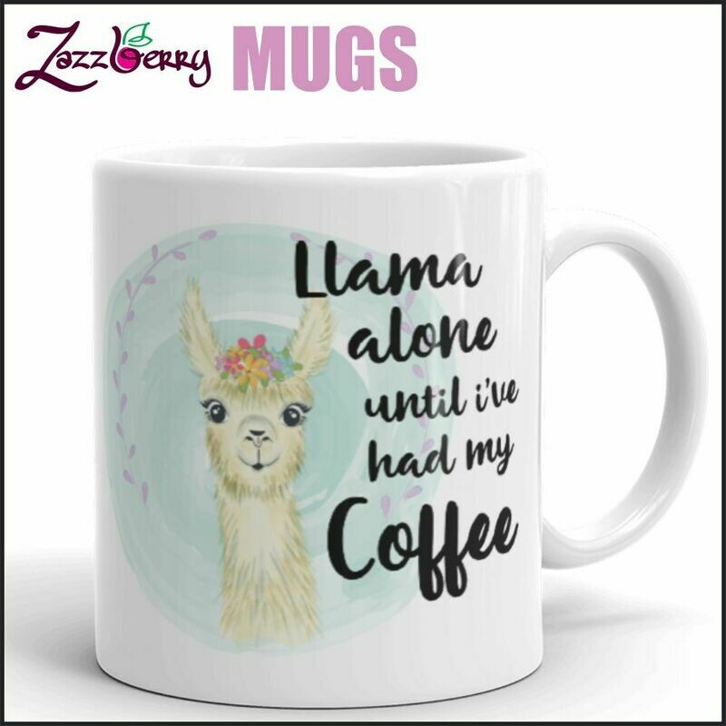 Llama Alone until I've had my Coffee