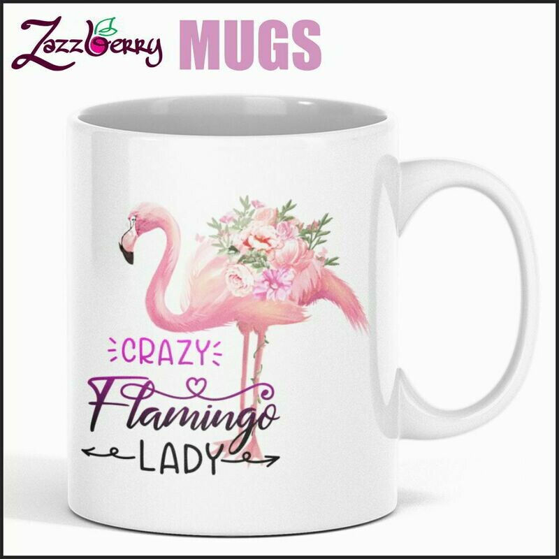 Crazy Flamingo Lady !