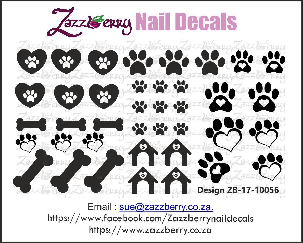 Doggie Love Nail Decals