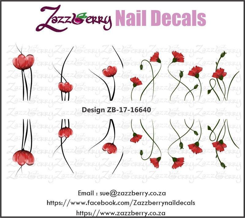 Flowers : Single Red Little Flowers