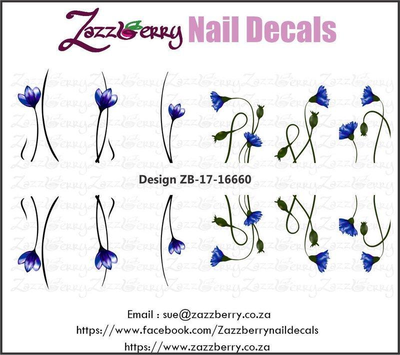 Flowers : Single Blue Little Flowers
