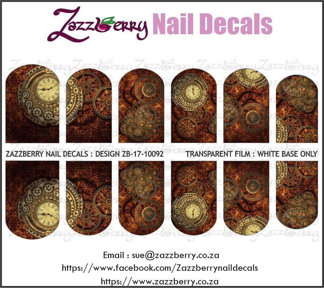 Steampunk : Rusty Gears and Clock 2