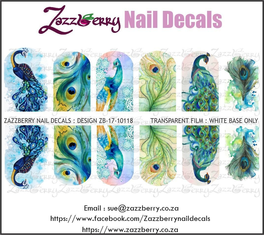 Peacocks : Water Color